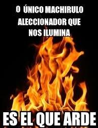 marichulo que arde