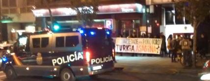 Consulado turco concentración abordaxe