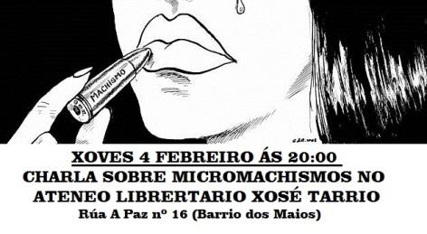 Xoves 4 charla Micromachismos