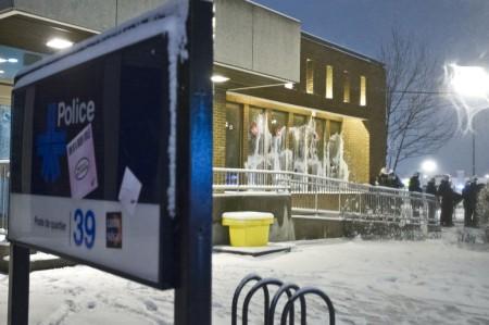 Comisaría atacada Montreal Nord