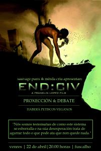 END CIV cartaz