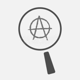 61201982-ilustraci-n-de-un-icono-aislado-lupa-con-un-signo-de-la-anarqu-a